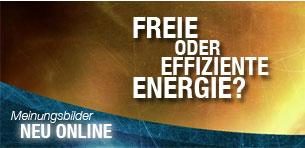 Freie Energie oder effiziente Energie?