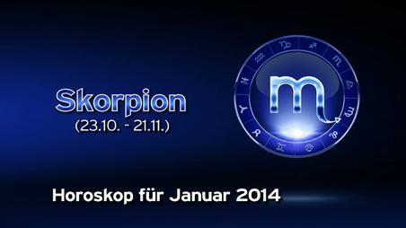 Skorpion Monat